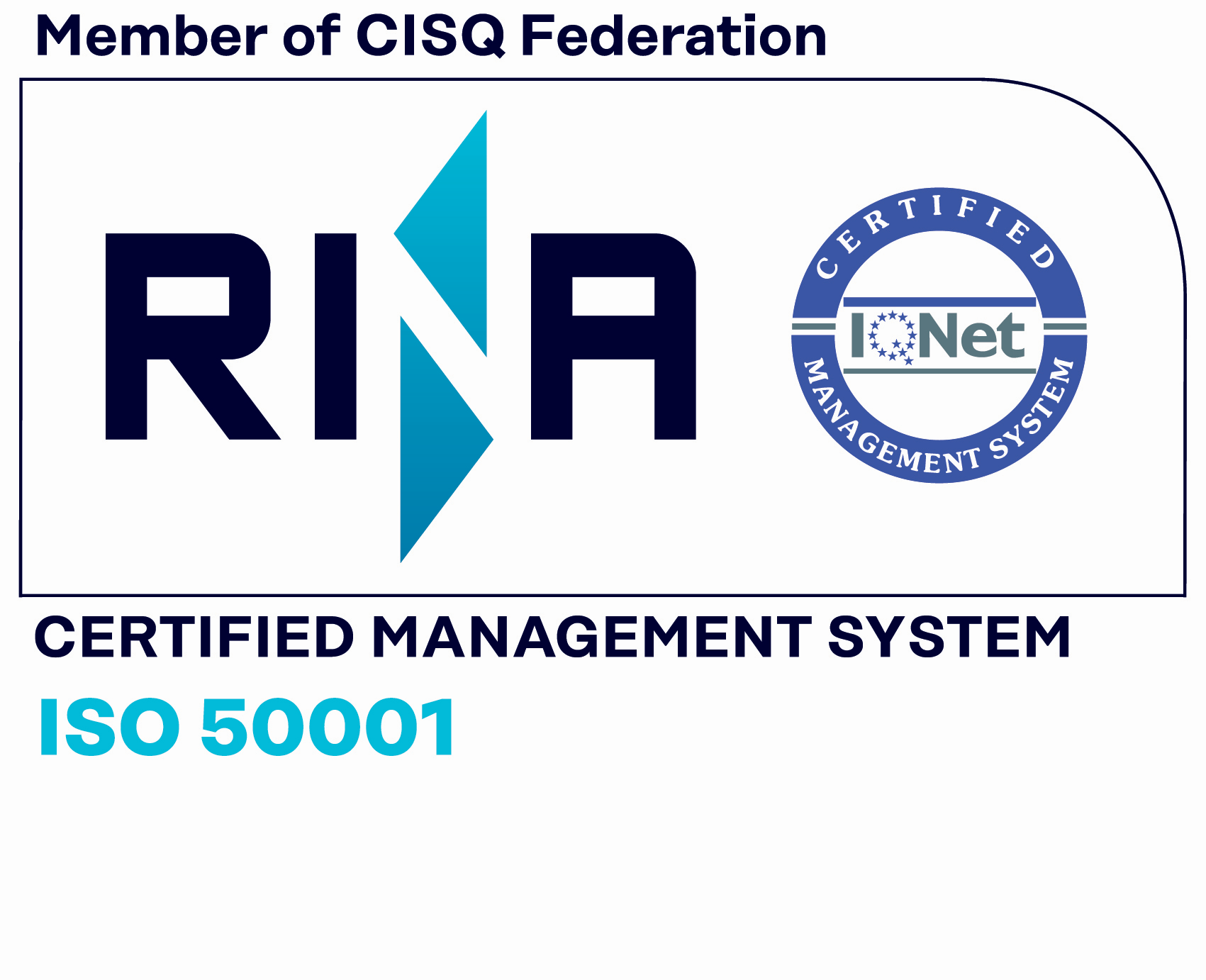 RINA Certified Management System